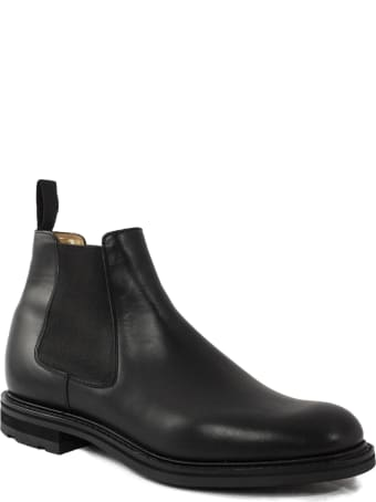 Church's Welwyn Black Chelsea Boot