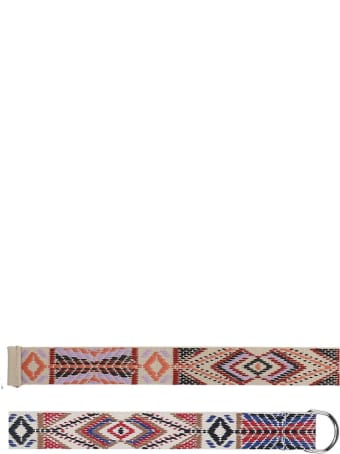 Isabel Marant Nyess Belts In Beige Tech/synthetic