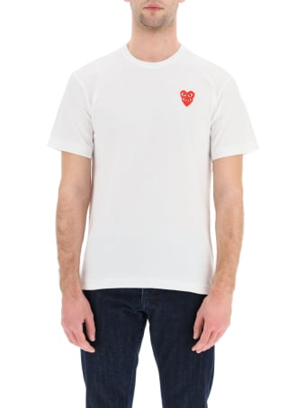 Comme des Garçons Play Play T-shirt With Heart Logo Patch