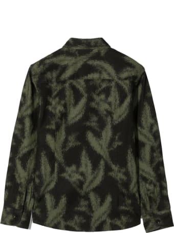 Paolo Pecora Black Linen/flax-cotton Blend Shirt