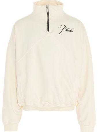Rhude 'quarter Zip' Sweatshirt