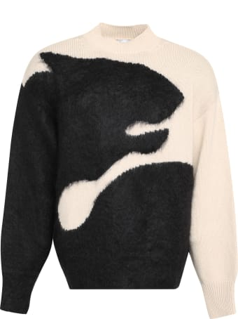 Kenzo Tiger Shadow Intarsia Sweater