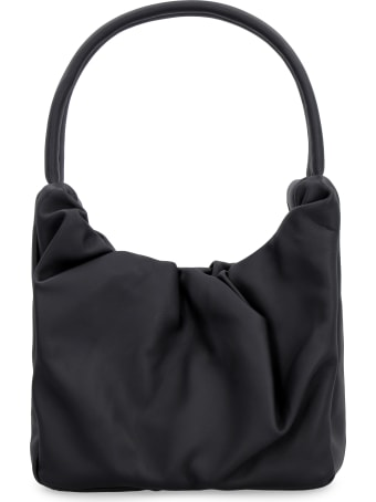 STAUD Felix Leather Shoulder Bag