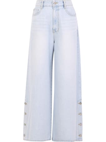 SJYP Cropped Jeans