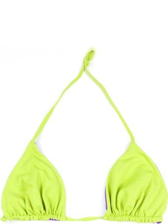 Fisico - Cristina Ferrari Green Triangle Bikini Top