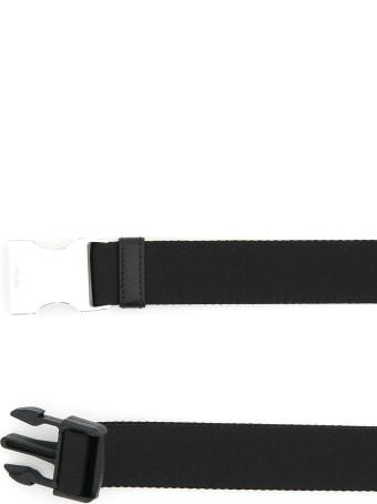 Prada Tuc Belt Nylon Ribbon With Pouch