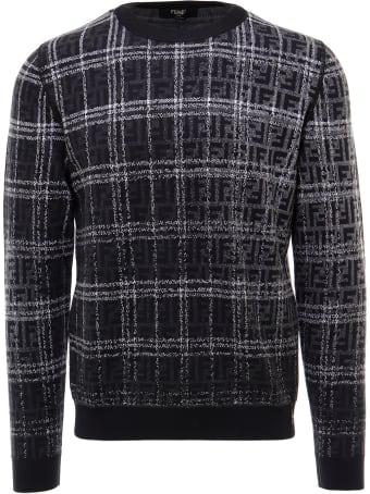 Fendi Girocollo Blurred Ff Sweater