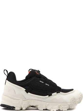 Puma Select Trailfox Overland  Black & White Leather Sneaker