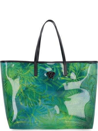 Versace Vinyl Shopper Bag