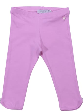 Baby Dior Pink Cotton Leggings
