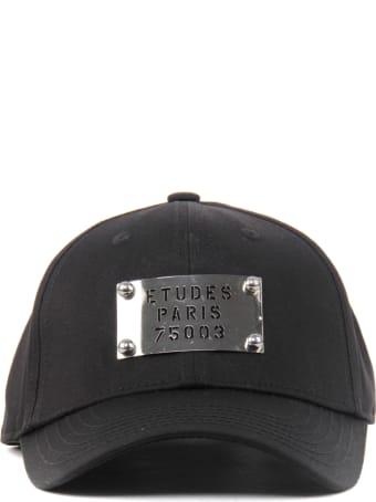 Études Cotton Baseball Cap With Silver Plate