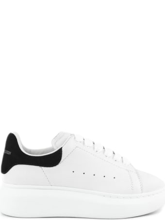 Alexander McQueen White Leather Sneakers