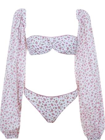 Oseree Floral Printed Bikini