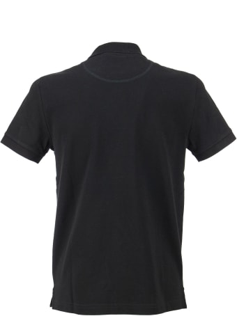 Moose Knuckles Short-sleeved Polo Shirt With Logo