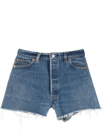 RE/DONE Shorts In Levi's Denim