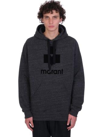 Isabel Marant Miley Sweatshirt In Grey Cotton