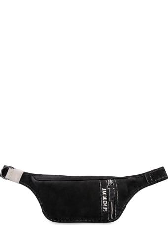 Jacquemus Le Banane Leather Belt Bag With Logo