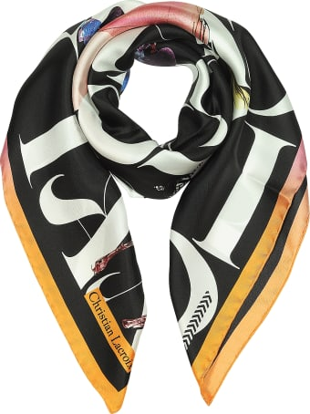 Christian Lacroix Lacroix Parade Printed Silk Scarf