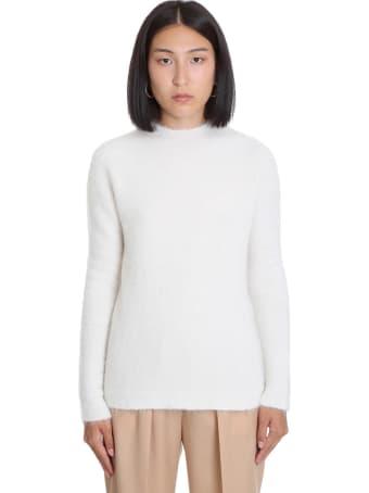 Jil Sander Knitwear In White Wool