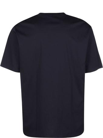 Jil Sander Navy Blue Cotton T-shirt