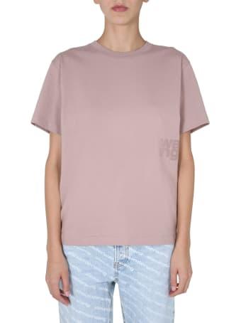 T by Alexander Wang Crew Neck T-shirt