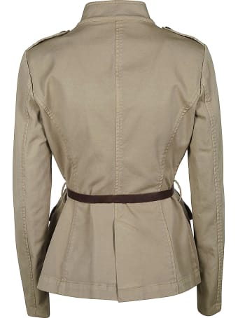 Bazar Deluxe Belted Waist Military Shirt