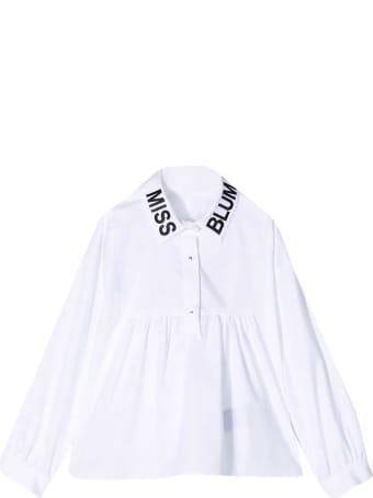 Miss Blumarine White Shirt