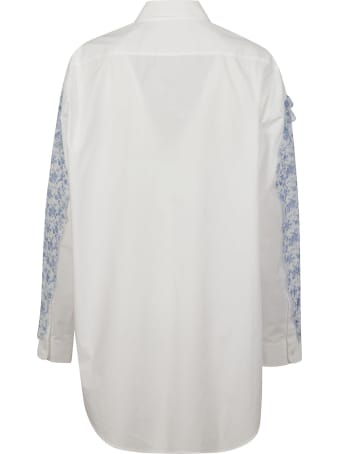 Acne Studios Floral Print Oversized Shirt