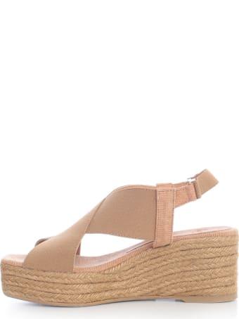 Castañer Quilu Sandals W/wedge Yuta