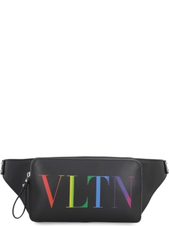 Valentino Valentino Garavani - Leather Belt Bag With Logo