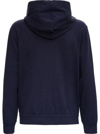Brunello Cucinelli Blue Cotton Sweatshirt