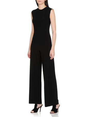 Norma Kamali Sleeveless Stretch Jumpsuit