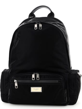 Dolce & Gabbana Samboil Nylon Backpack