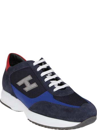 Hogan Multicolor Leather Interactive Sneakers