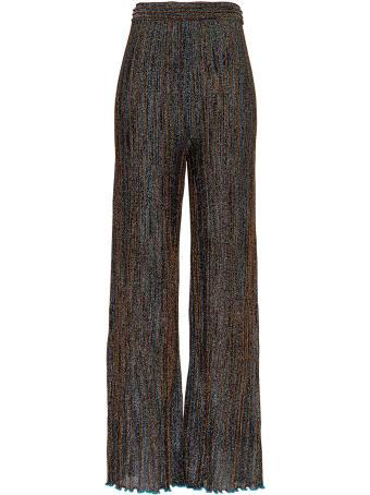 M Missoni Lurex Pants In Viscose Blend