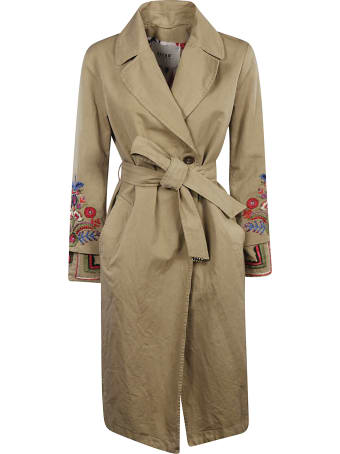Bazar Deluxe Embroidered Trench