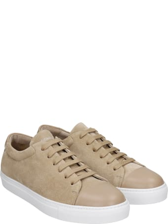 National Standard Edition 3 Sneakers In Beige Suede