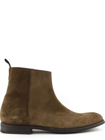 Green George Brown Suede Ankle Boot