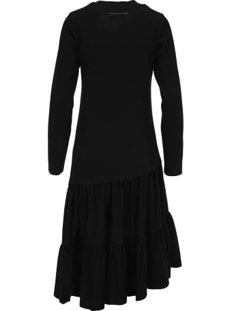 MM6 Maison Margiela Mm6 Asymmetric Long Dress
