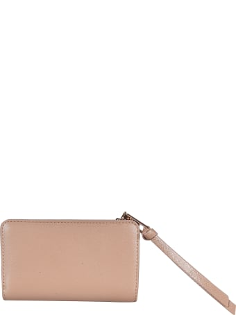 Marc Jacobs Logo Plaque Zipped Wallet