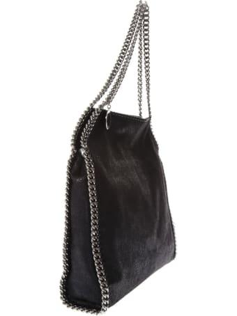 Stella McCartney Medium Falabella Black Shaggy Faux Deer Bag