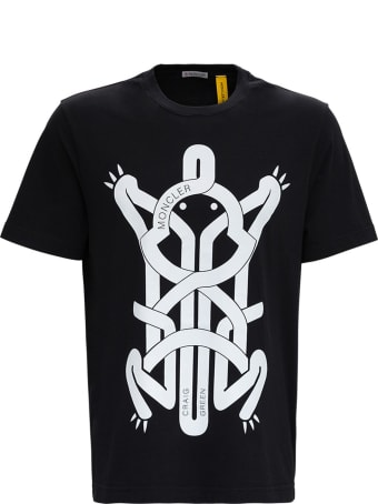 Moncler Genius T-shirt With Frog Print By Craig Green