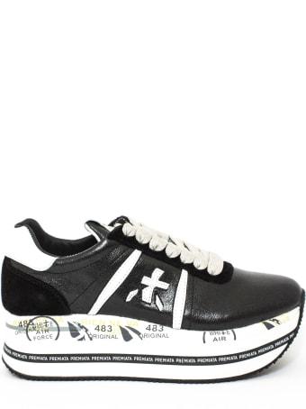 Premiata Black Beth Sneakers