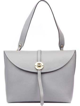 Coccinelle Endora Grey Leather Bag
