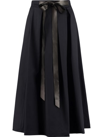 Department 5 Pleated Midi Skirt