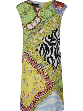 Moschino Printed Sleeveless Dress