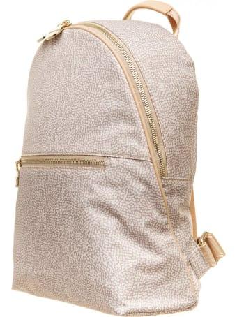 Borbonese Borbonese Medium Backpack With Op Pattern