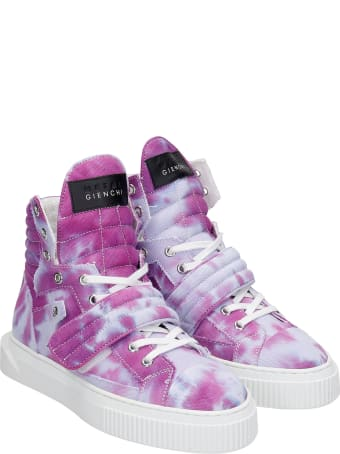 Gienchi Hypnos Sneakers In Viola Canvas