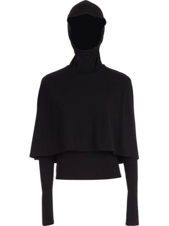 Sara Battaglia Shirt L/s W/cape