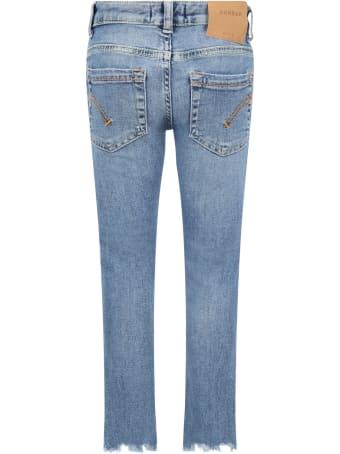 Dondup Light Blue ''monroe'' Jeans For Girl